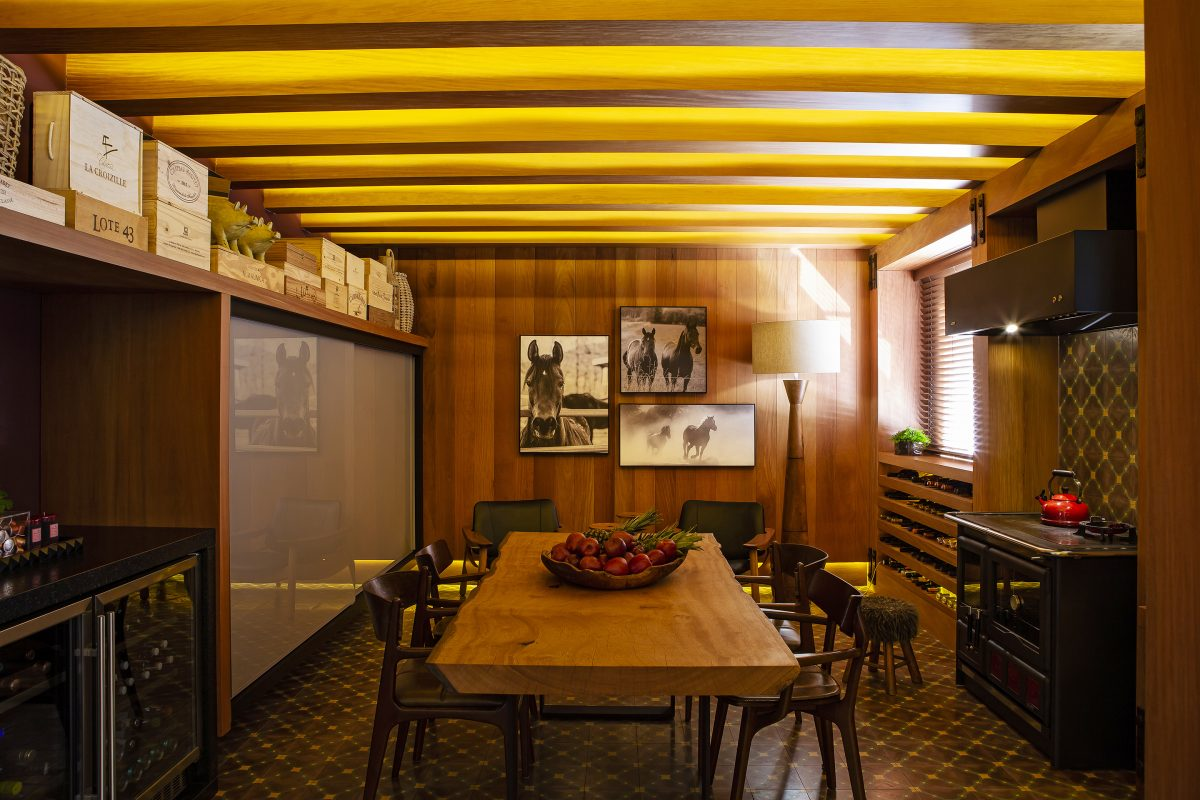 Projeto de Nicaretta Arquitetura+Paisagismo, para o Anuário ARQ de Arquitetura e Decoração do Rio Grande do Sul 2019. Foto: Renan Costantin