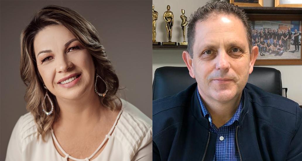 Sirlei Kerkhoff e Carlos Rogério Kerkhoff